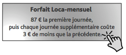 forfait loca-mois